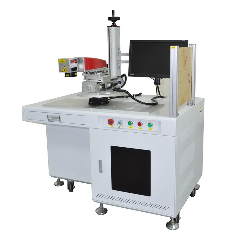 半自动光纤激光打标机