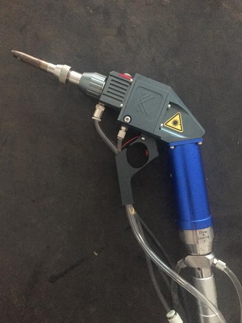 手持激光焊接机焊头